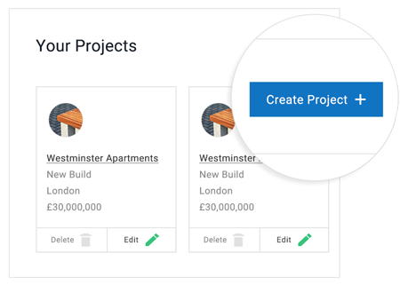 Manage BIM Objects With Projects